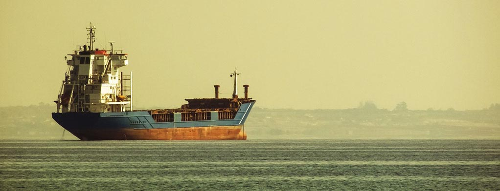 Oil Carrier on the ocean